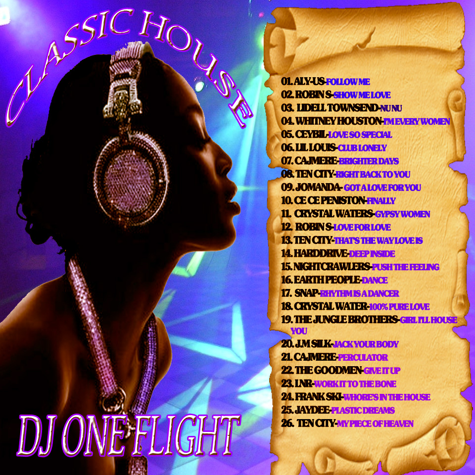 Tapesoncd 39 s site for Classic house volume 1